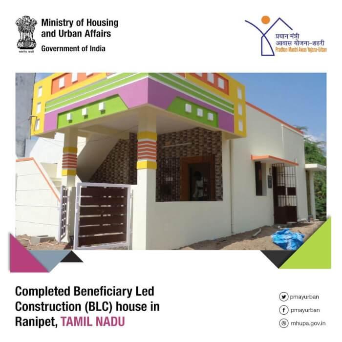 pmay housing scheme ranipet