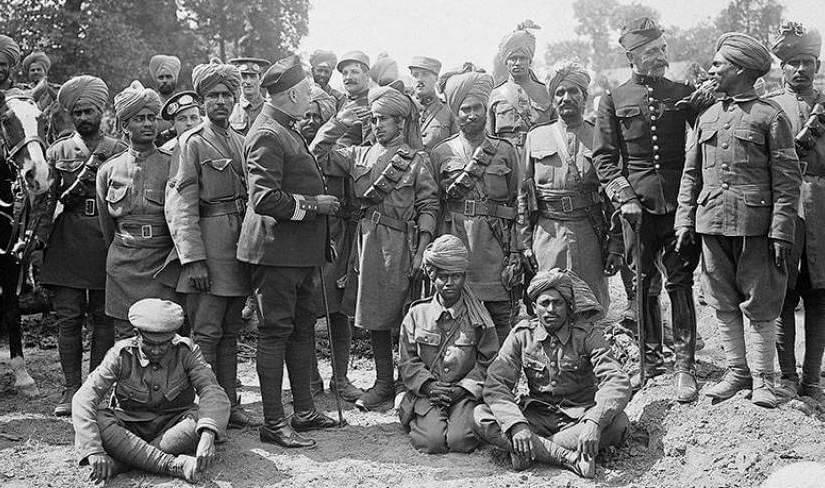 world war 2 - india facts